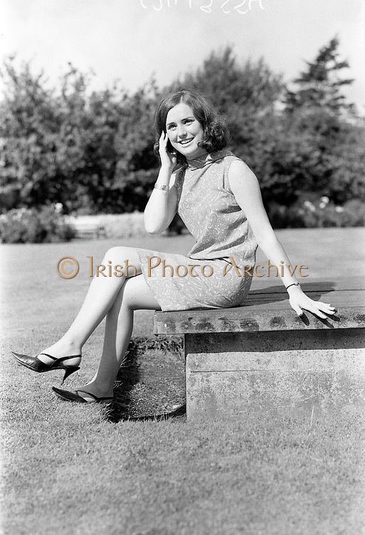 12th September 1966<br /> <br /> Special for Player Wills: portrait of Miss Phyllis Byrne