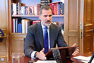 011321 King Felipe VI attends the opening of the XI edition of Spain Investors Day