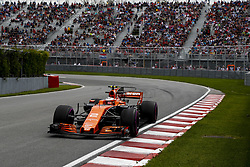 June 9, 2017 - Montreal, Canada - Motorsports: FIA Formula One World Championship 2017, Grand Prix of Canada, .#2 Stoffel Vandoorne (BEL, McLaren Honda) (Credit Image: © Hoch Zwei via ZUMA Wire)