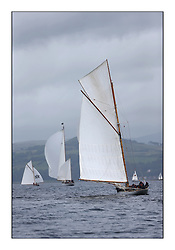Day one of the Fife Regatta, Round Cumbraes Race.<br /> <br /> Viola, Yvon Rautureau, FRA, Gaff Cutter, Wm Fife 3rd, 1908<br /> <br /> * The William Fife designed Yachts return to the birthplace of these historic yachts, the Scotland's pre-eminent yacht designer and builder for the 4th Fife Regatta on the Clyde 28th June–5th July 2013<br /> <br /> More information is available on the website: www.fiferegatta.com