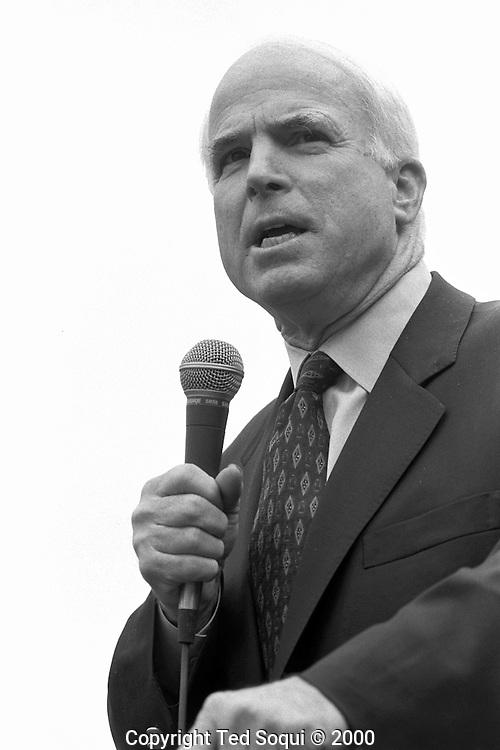 Candidate for President John McCain speaking at USC.