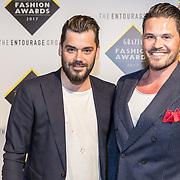 NLD/Amsterdam/20170829 - Grazia Fashion Awards 2017, Janice en partner