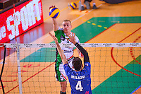 Nilas SEPPANEN / Aleksandar MILKOV  - 13.12.2014 - Tourcoing / Montpellier - 11eme journee de Ligue A<br /> Photo :  Dave Winter / Icon Sport *** Local Caption ***