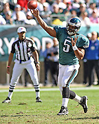 Donovan McNabb during game between the Philadelphia Eagles and the Atlanta Falcons at Lincoln Financial Field in Philadelphia, Pennsylvania on October 26, 2008.