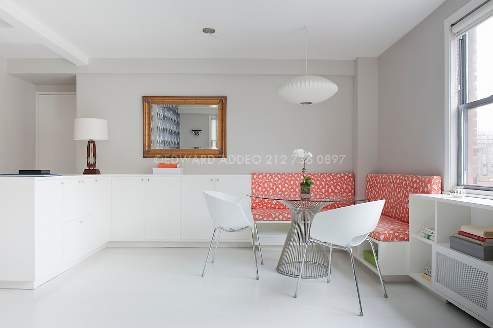 Bringing light and efficiency to a small space makes it appealing and desirable.<br /> This small space designed by Lindsay McCullough shows the power of good design, clean lines, and the right dash of color.
