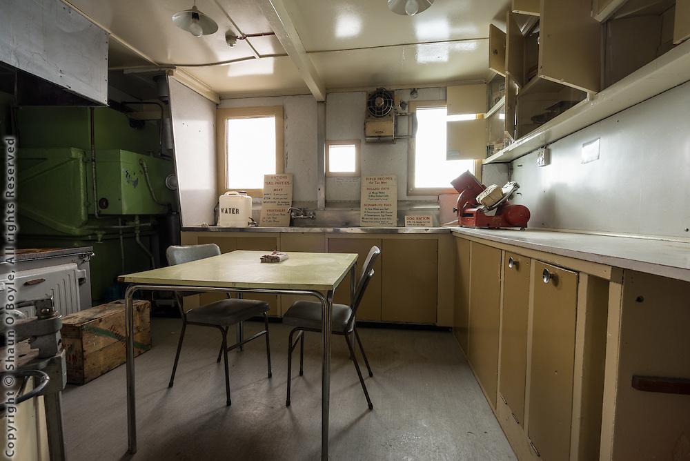 A Hut kitchen