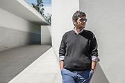 Porto and Douro Valley, Portugal. Architect Nuno Capelo photographed in Serralves Museum.