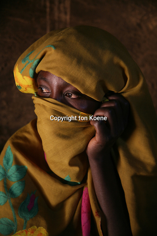 Sudanese refugeecamp in Chad