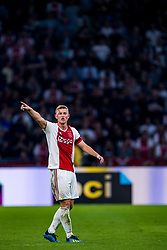 14-08-2018 NED: Champions League AFC Ajax - Standard de Liege, Amsterdam<br /> Third Qualifying Round,  3-0 victory Ajax during the UEFA Champions League match between Ajax v Standard Luik at the Johan Cruijff Arena / Matthijs de Ligt #4 of Ajax
