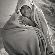 Elderly woman in village of Chandelao, Rajasthan
