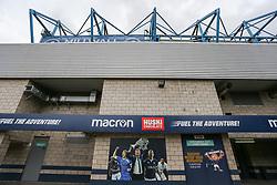 A poster of Neil Harris outside the stadium - Mandatory by-line: Arron Gent/JMP - 05/10/2019 - FOOTBALL - The Den - London, England - Millwall v Leeds United - Sky Bet Championship