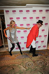 GABY ROSLIN and ALAN CARR at the Fantasy Ball in aid if children's cancer charity CLIC Sargent held at The Dorchester, Park Lane, London on 11th November 2010.