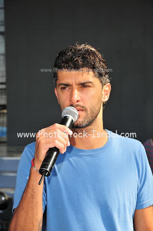 Kochav Nolad (A Star is Born) The Israeli Version of American Idol. The finalist Liron Ramati, July 2011