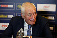 PDC Chairman Barry Hearn during the Darts World Championship 2018 at Alexandra Palace, London, United Kingdom on 18 December 2018.