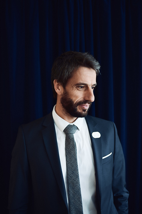 Tony Estanguet, a three-time Olympic Champion, and head of the organizing committee for the Paris 2024 Olympics. Paris, France. October 28, 2019.