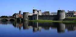 July 21, 2019 - King John's Castle, River Shannon, County Limerick, Ireland (Credit Image: © Peter Zoeller/Design Pics via ZUMA Wire)