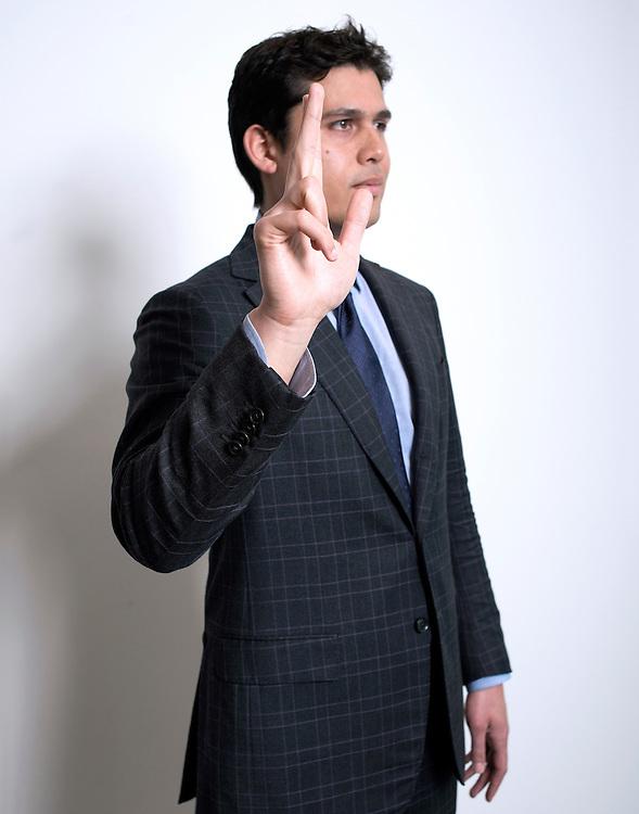 Nederland. Amsterdam, 21-05-2013. Foto: Patrick Post.  Portret van Jonathan Soeharno, advocaat bij De Brauw Blackstone Westbroek N.V..