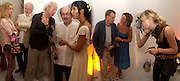Maryam D'Abo, Hugh Hudson, Mark Knopfler, Padma  and Salman Rushdie. Caroline Michel. Party to celebrate the publication of Shalimar the Clown by Salman Rushdie. David Gill Gallery, 3 Loghborough St. London SE11 ONE TIME USE ONLY - DO NOT ARCHIVE  © Copyright Photograph by Dafydd Jones 66 Stockwell Park Rd. London SW9 0DA Tel 020 7733 0108 www.dafjones.com