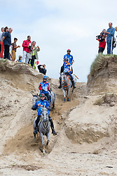 Ali Khalfan Al Jahouri, (UAE), Moota Haddeea, Abdulla Ghanim Al Marri, Quran El Ulm, Maria Alvarez Ponton, Qualif du Poncelet, Marijke Visse, Laiza de Jalima, (NED)<br /> Alltech FEI World Equestrian Games™ 2014 - Normandy, France.<br /> © Hippo Foto Team - Leanjo de Koster<br /> 25/06/14