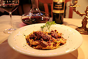 typical Florentine pasta, earthy-boar pasta, La Giostra, Borgo Pinti 12R, Florence, Italy, Florence, Italy