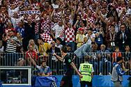 Mario Mandzukic of Croatia celebrates his 2-1 winning goal during the 2018 FIFA World Cup Russia, semi-final football match between Croatia and England on July 11, 2018 at Luzhniki Stadium in Moscow, Russia - Photo Thiago Bernardes / FramePhoto / ProSportsImages / DPPI