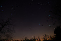 Late Fall 02:18 AM Sky in New Jersey. Image taken with a Nikon D4 and 14-24 mm f/2.8G lens (ISO 200, 14 mm, f/2.8, 59 sec).