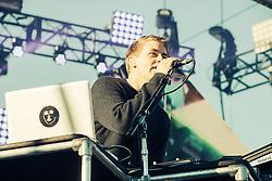 Disclosure perform at The Treasure Island Music Festival - San Francisco, CA - 10/19/13
