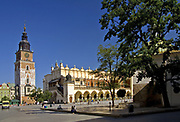 Town Hall and Cloth Hall, Cracow, Poland
