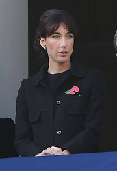Samantha Cameron at the Remembrance Sunday service held at The Cenotaph in London, Sunday, 13th November 2011. Photo by: Stephen Lock / i-Images