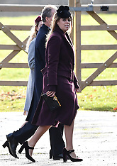 The Royal Family attends Church on Christmas Eve - 24 Dec 3027