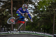 #7 (MIR Amidou) FRA during round 3 of the 2017 UCI BMX  Supercross World Cup in Zolder, Belgium,