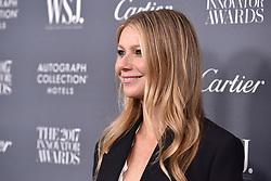 Actress Gwyneth Paltrow attends the WSJ. Magazine 2017 Innovator Awards at MOMA in New York, NY, on November 1, 2017. (Photo by Anthony Behar/Sipa USA)