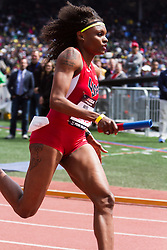 Penn RelaysUSA vs the World 4 x 400 meter relay, women