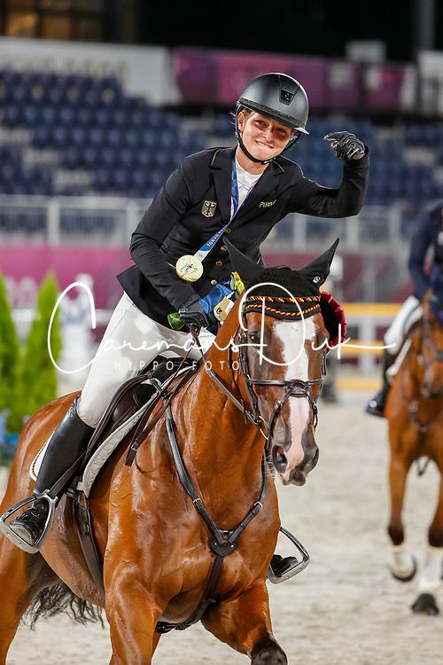 Krajewski Julia, GER, Amande de B Neville, 236<br /> Olympic Games Tokyo 2021<br /> © Hippo Foto - Stefan Lafrentz<br /> 02/08/2021