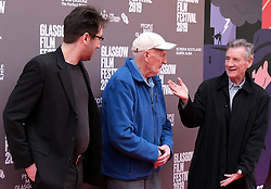 "Glasgow Film Festival, Sunday 3rd March 2019<br /> <br /> UK Premiere of ""Final Ascent""<br /> <br /> Pictured: Robbie Fraser, Hamish MacInnes and Sir Michael Palin<br /> <br /> Alex Todd 
