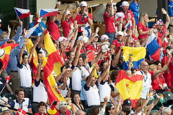 Opening ceremony, Team Spain<br /> World Equestrian Games - Tryon 2018<br /> © Hippo Foto - Sharon Vandeput<br /> 11/09/2018
