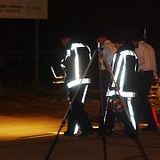 Schietpartij woonwagenkamp Noordersingel Eemnes, sporenonderzoek politie en brandweer