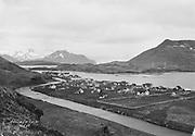 9707-K246. view of Unalaska, June 22-24, 1917 Alaska
