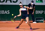 Veronika Kudermetova of Russia during the first round of the Roland-Garros 2021, Grand Slam tennis tournament on May 30, 2021 at Roland-Garros stadium in Paris, France - Photo Rob Prange / Spain ProSportsImages / DPPI / ProSportsImages / DPPI