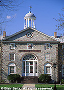PA Historic Places, Dickinson College, Old Main, Carlisle, Cumberland Co., Pennsylvania