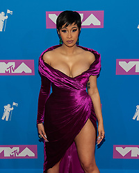 August 21, 2018 - New York City, New York, USA - 8/20/18.Cardi B at the 2018 MTV Video Music Awards at Radio City Music Hall in New York City. (Credit Image: © Starmax/Newscom via ZUMA Press)