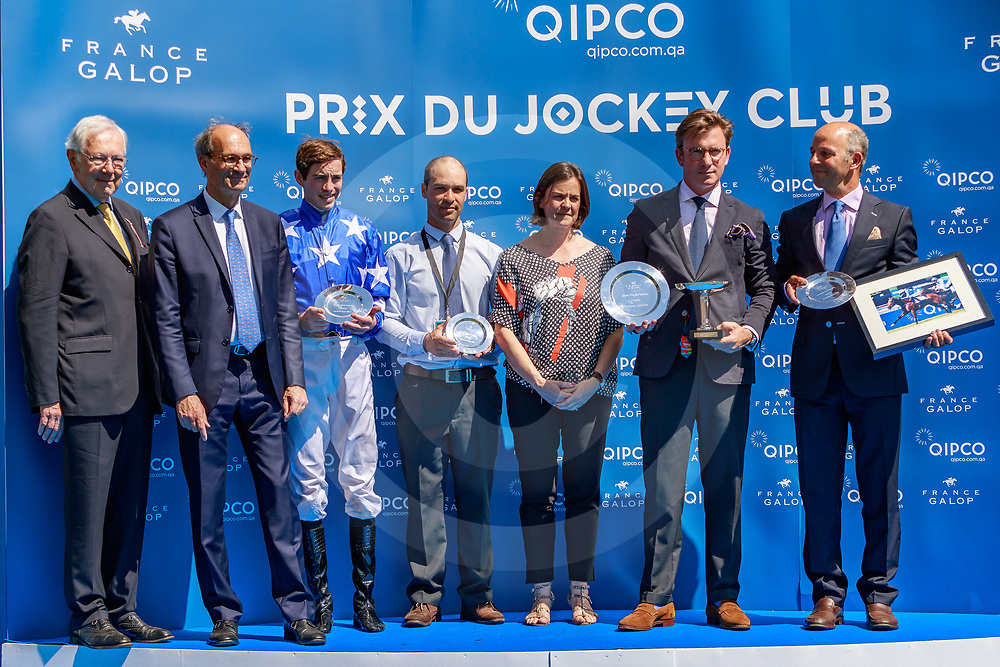 Aspetar (JW. Doyle) wins Grand Prix de Chantilly Gr.2  in Chantilly, France 02/06/2019, photo: Zuzanna Lupa