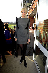 JENNI FALCONER at the Hennessy Gold Cup 2009 held at Newbury Racecourse, Berkshire on 28th November 2009.
