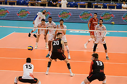 June 17, 2018 - Varna, Bulgaria - Mens Volleyball Nations League, VNL, match between France and Canada at Palace of Culture and Sport in Varna, Bulgaria on June 17, 2018  (Credit Image: © Hristo Rusev/NurPhoto via ZUMA Press)