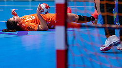 Martine Smeets of Netherlands in action during the Women's friendly match between Netherlands and Slovenia at De Maaspoort on march 19, 2021 in Den Bosch, Netherlands (Photo by RHF Agency/Ronald Hoogendoorn)