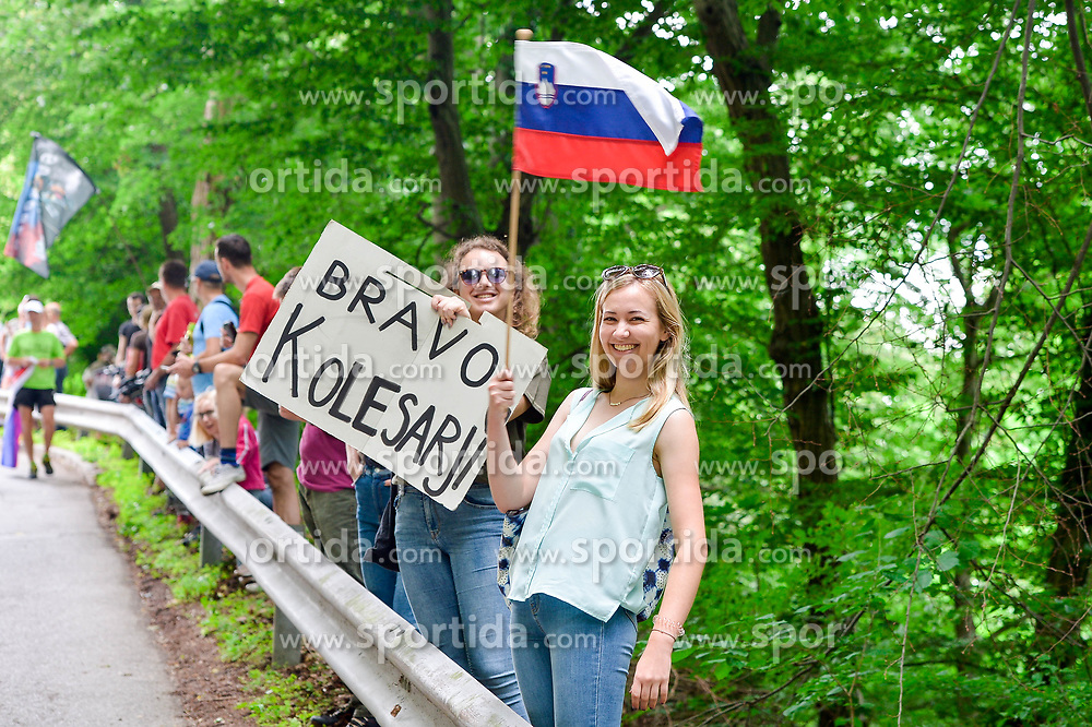 Fans during 3rd Stage of 25th Tour de Slovenie 2018 cycling race between Slovenske Konjice and Celje (175,7 km), on June 15,2018 in Slovenia. Photo by Mario Horvat / Sportida