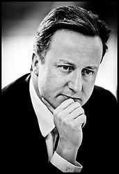 Leader of the Conservative Party David Cameron, visits Walworth Academy in London, to launch the education section of the 'Mending our Broken Society' chapter of the Conservative Party?s draft manifesto, Monday  January 18, 2010. Photo By Andrew Parsons/i-Images..
