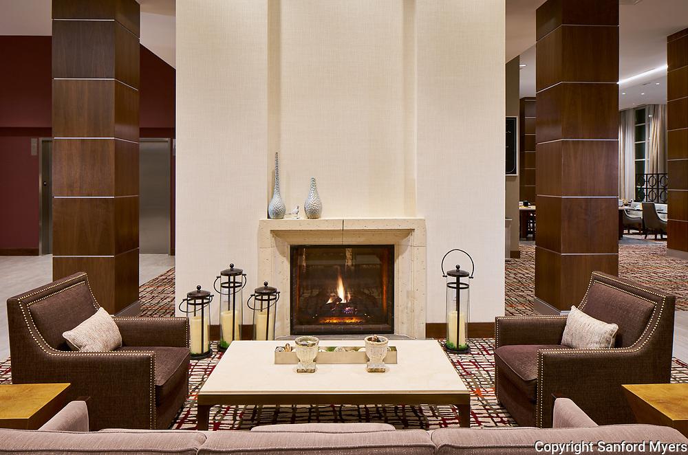 The Hilton Garden Inn Homewood Suites designed by Collaborative Studios Wednesday, Jan. 17, 2018 in Charlotte, TN.