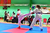 Cat 55 & 56 - 14-15yrs - Cadet Girls Open Kumite