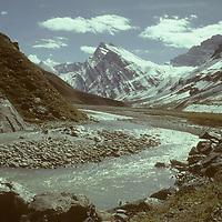 Warwan Valley, Kaintal area. Great Himalaya Range.